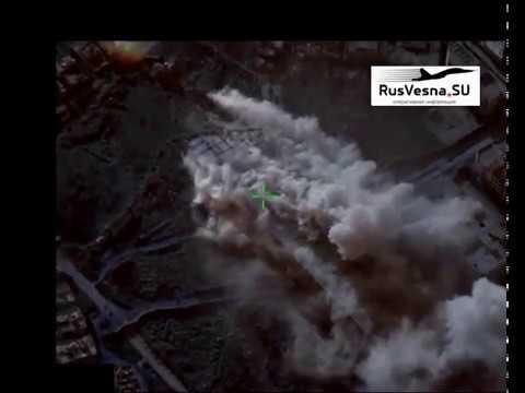 СРОЧНО Лётчик снайпер ВКС России уничтожил огневые средства боевиков атаковавших Алеппо