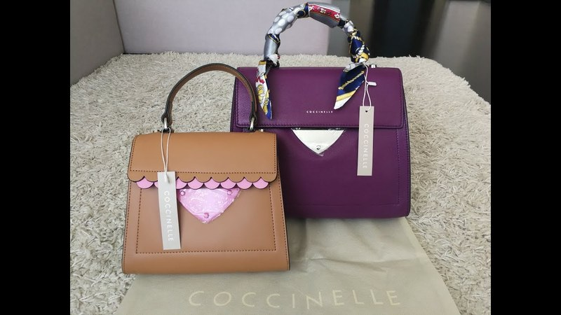 Обзор сумочек Coccinelle b14 mini and medium