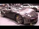 2018 Porsche 911 Turbo S Stinger by Topcar - Exterior Interior Walkaround - 2018 Geneva Motor Show
