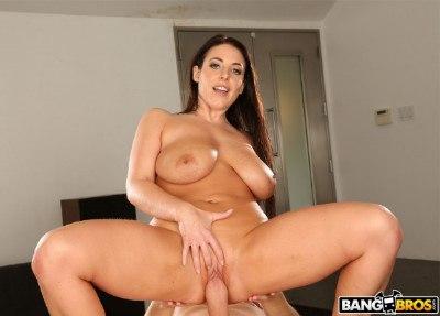Angela White Gets a Proper Massage