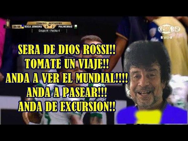 Relato Daniel Mollo Gol de Lima Boca 0 Palmeiras 2 Copa Libertadores 2018 04 25