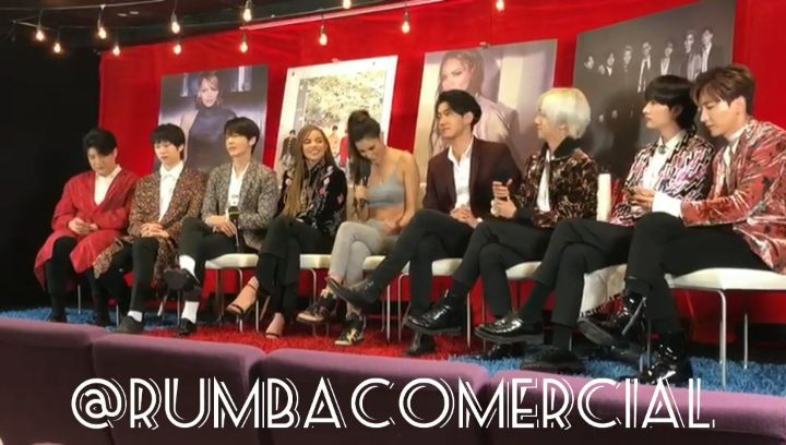 "RuMBa CoMeRCiaL ® on Instagram ""@SuperJunior @LeslieGrace at a Press Conference in Sony Music Studio in México.😀 SuperJunior LeslieGrace LoSi..."