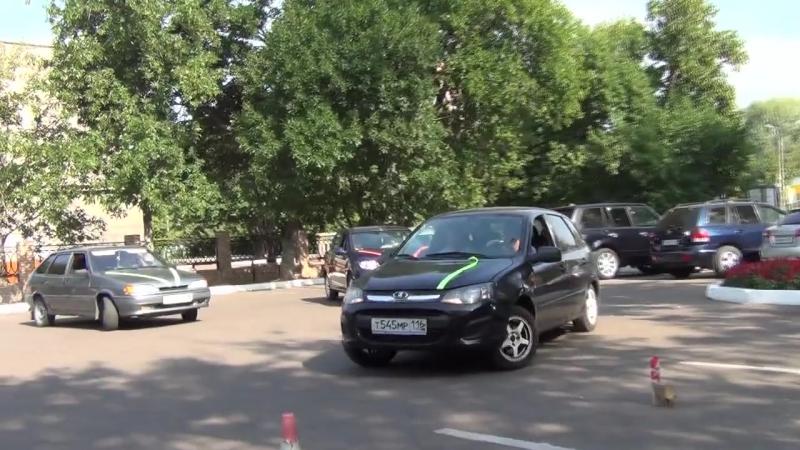 6)Свадьба Ани и Андрея - Приезд машин к Загсу 19.08.2016 (Нижнекамск)