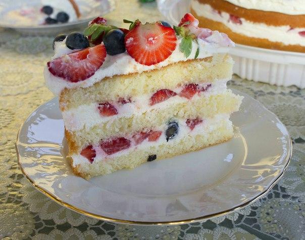 Творожный торт с маскарпоне