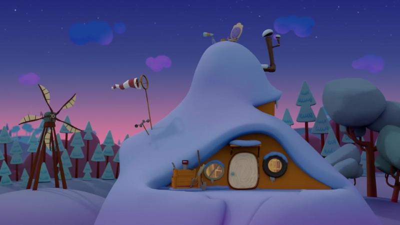 Мультик Ми-ми-мишки 🎅 Новогодний сборник 🎄 Мультфильмы про зиму и Новый год -