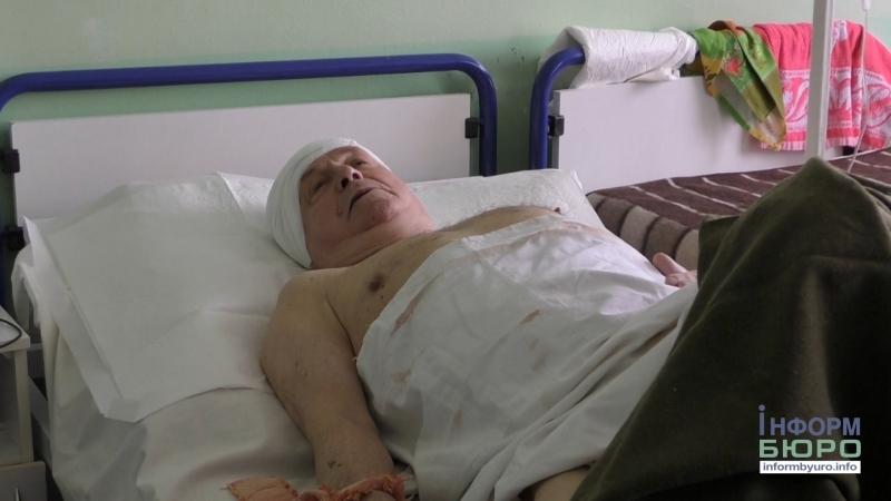 Жорстокий напад з ножем на пенсіонера