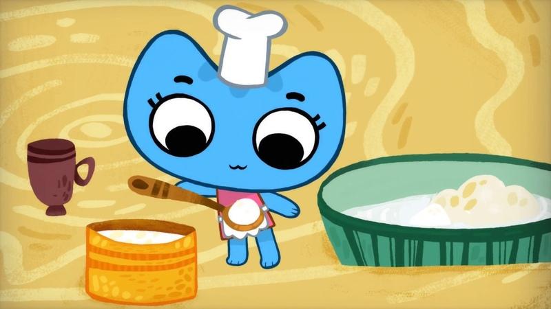 Мультики - Котики, вперёд! - Просто десерт - Новые серии 2018! Для малышей