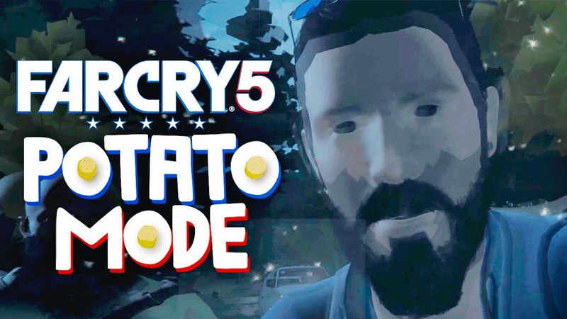 Far Cry 5's Lowest Settings Brings Us To Tears | Potato Mode