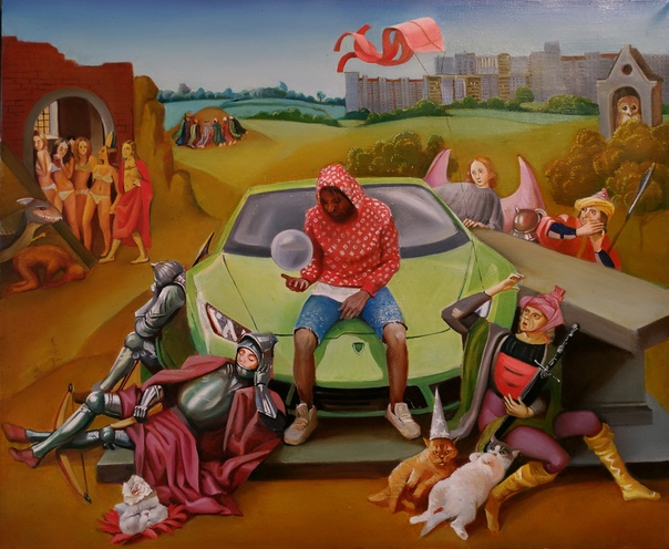 "Селина - ""Сад Ангедонии"" (Москва, ЦСИ Винзавод, 11.12 Gallery, 5 июня - 15 июля 2018)"