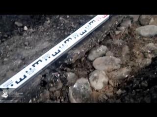 В Рязани находят скрытую под асфальтом старинную мостовую