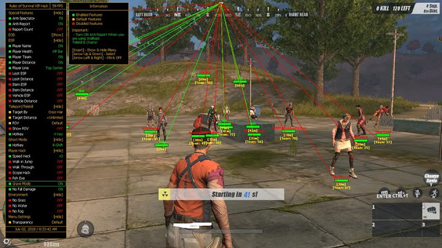 NSeven Hack Rules of Survival - UPDATED July 2, 2018