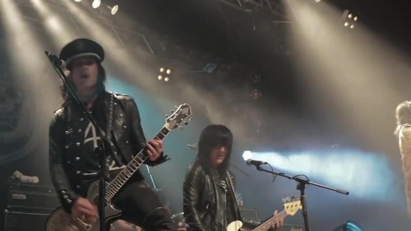 L.A. Guns - Speed (Official Live Video - Milan, IT)
