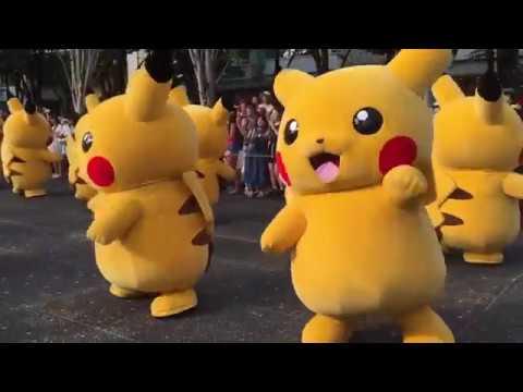 Pikachu nhảy đáng yêu, dễ thương - Pikachu cho bé - Pikachu pokemon for kids, Song for babies