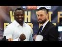 Dillian Whyte vs Joseph Parker FULL PRESS CONFERENCE - boxing