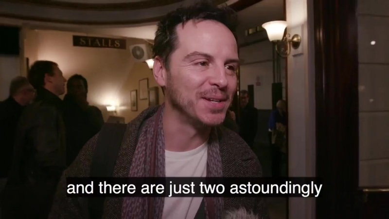 Andrew Scott attends the press night performance of 'Beginning' at the Ambassadors Theatre on January 23 2018 in London
