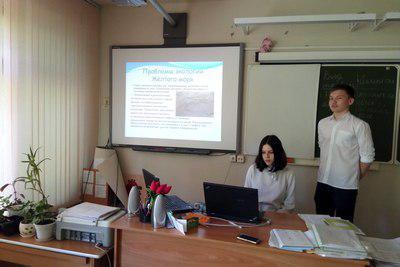 Юные экологи из Бибирева представили исследовательские работы по теме «Вода и здоровье»