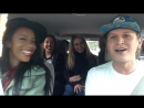 Uber driver raps for car full of babes WATCH THIS