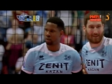 Top 10 best volleyball action from Wilfredo Leon. The Champions League FINAL 2018.
