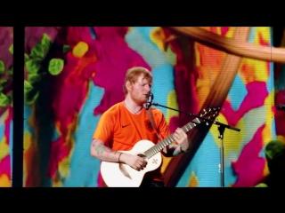 Тур | Эд Ширан исполняет песню «Shape Of You» на стадионе «Amsterdam Arena», Амстердам, Нидерланды | 29 июня 2018