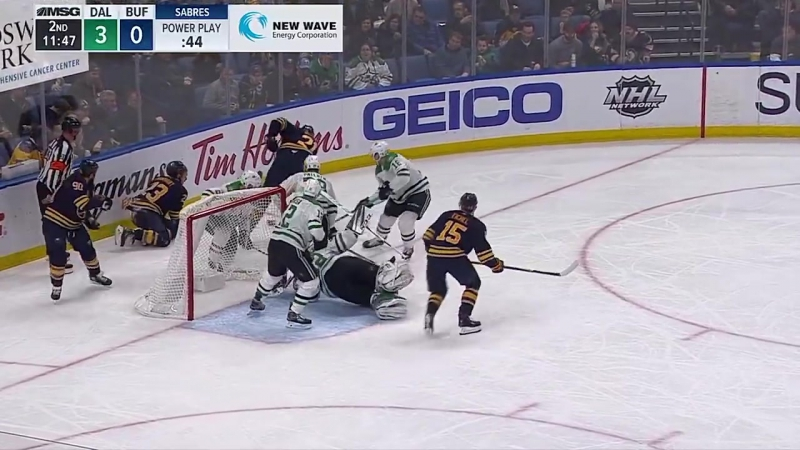 Баффало Сэйбрз 1 : 7 Даллас Старз. Обзор(Хоккей.НХЛ 20.01.2018)