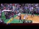 Throwback Shaquille O'Neal welcomes fans in Boston with powerful dunk 10 26 2010