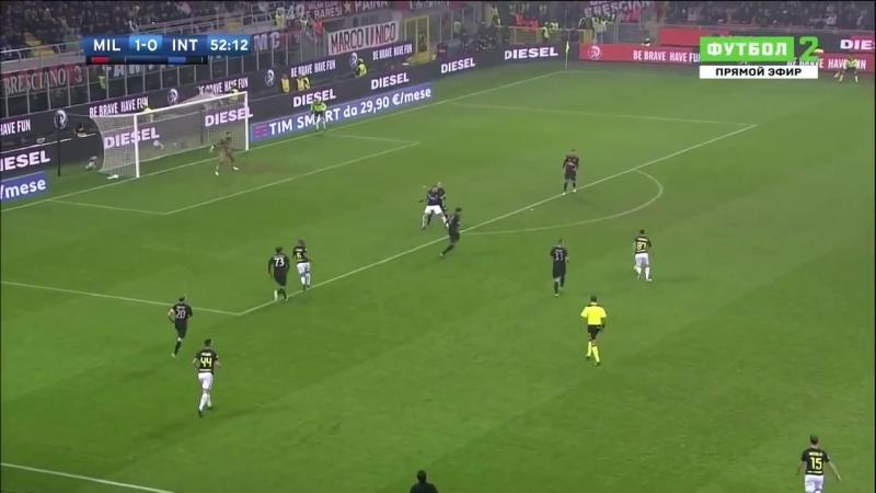 Милан 2:2