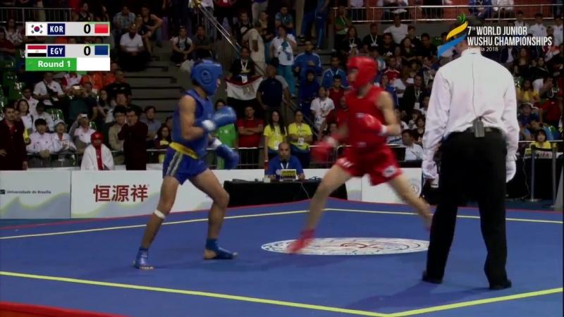 7th World Junior Wushu Championships - Day 4 - Sanda - Arena 3- Session 6