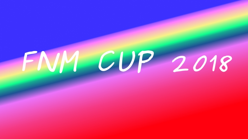 FNM Cup 2018 Draw
