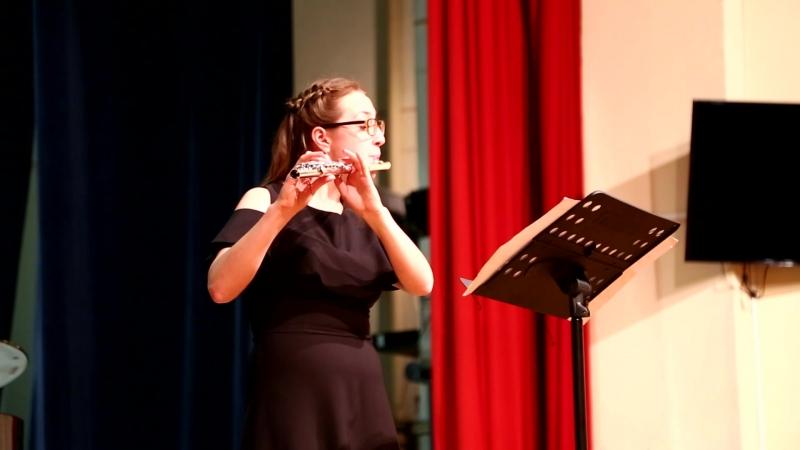 Бурлеска для флейты и фортепиано (флейта - Александра Вересова)