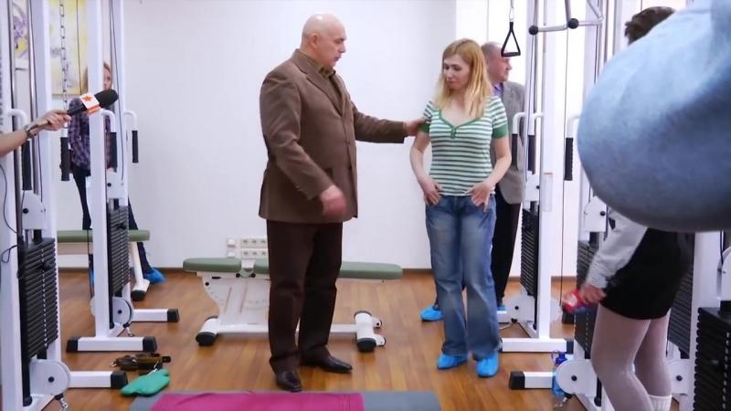 Диагностика позвоночника, симптомы сколиоза - доктор Бубновский