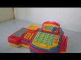 Видео обзоры игрушек - Кассовый аппарат со сканером, весами, микрофоном