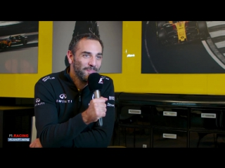 [RUS] Renault's Cyril Abiteboul | F1 Grill The Grid Team Bosses