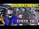 Animatronic DIY Musical Robotic Face On A Modular Synthesiser