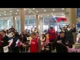 ?? Очень круто! Как хоккейную сборную России встречали в Корее