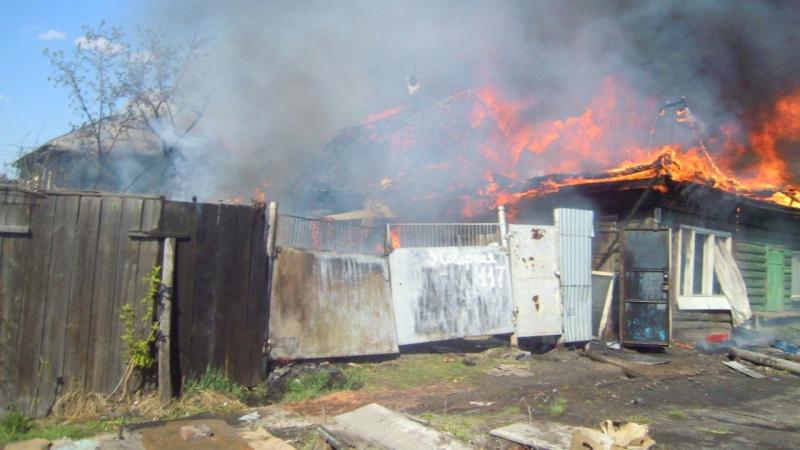 Пожар на 3 ей Северной 119 и 117 Первый ролик дознавателя