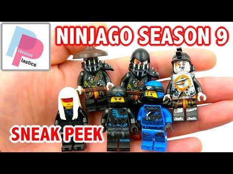 Ninjago Season 9 Minifigures Sneak Peak - Jay, Nya, Harumi, Oni Villains