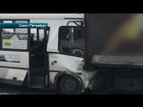 Пострадавшие в ДТП с маршруткой и грузовиком в Петербурге рассказали о произошед