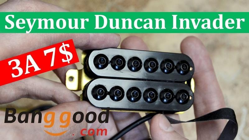 Fake Seymour Duncan Invader BANGGOOD