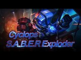 Mobile Legends Bang Bang Cyclops New Skin S.A.B.E.R. Exploder