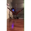 Pole Dance Nation on Instagram This pole combo posted by @thecreamshow is for all my newbie pole dancers who ask to see pole combos for beginne...