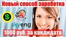 Новая возможность заработка в интернете – поиск сотрудников Skyeng
