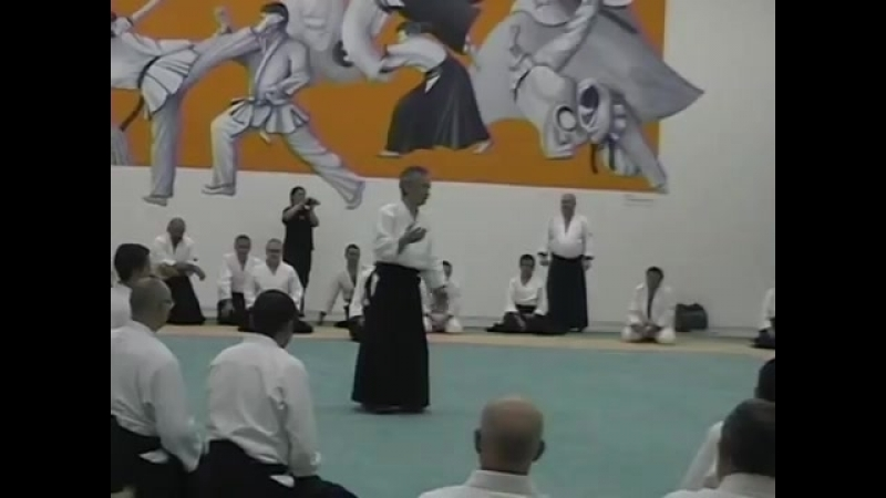 Шихан Тамура Набуёши, 8 дан айкидо Айкикай.