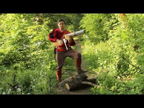 Стрельба из 8-ми ствольного мушкета для РИ