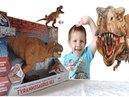 Мультики для детей про динозавра Рекса.Rex из серии Jurassic World от Hasbro