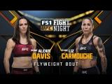 UFC FIGHT NIGHT FRESNO Alexis Davis vs Liz Carmouche