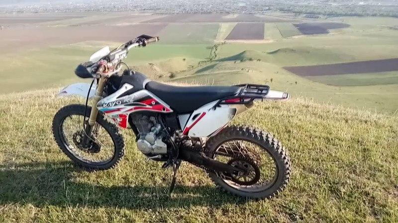 Обзор мотоцикла Kayo 250cc