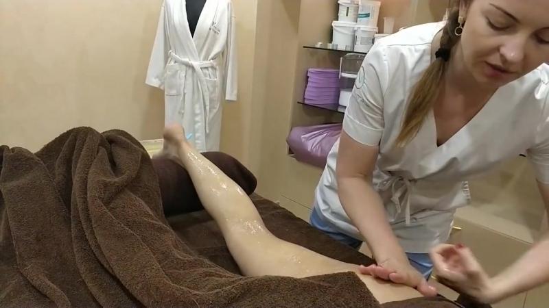 МЕДОВЫЙ МАССАЖ от целлюлита и для общего укрепления тела _ Honey anti-cellulite
