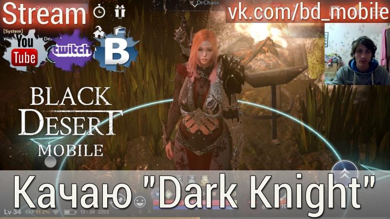 Black Desert Mobile [KR] - Качаю Dark KnightОтветы на вопросы 3