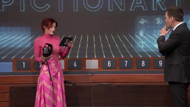 The Tonight Show Starring Jimmy Fallon: Virtual Reality Pictionary with John Boyega and Bella Thorne