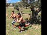TRX-тренировка в паре